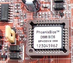 чип BIOS при ремонте компьютера