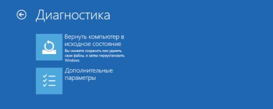 Диагностика работы Windows